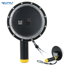 "QIUNIU 6"" Underwater Diving Camera Lens Shell Cover Acrylic Dome Port For GoPro Hero 5 Camera"