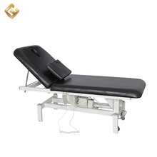 New design adjustable beauty beds black electric massage table for sale