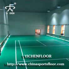 Indoor Futsal/Soccer/ standard badminton court flooring /Basketball/Table Tennis Court Floor