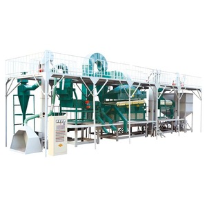 Maize Wheat Seed Cleaning Plant/ Corn Seed Processing Line