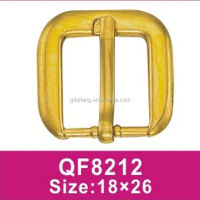 QF8212 Small Shiny gold /silver little buckle for bags