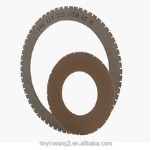 Chinese Manufacture ultrathin Metal bond saw blades for LED,crystal, gems,optical glass,stainless steel