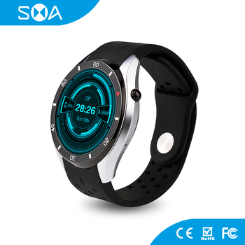 Wholesale MTK6580 1.39inch 3G WIFI GPS Smart Watch Support SIM Card