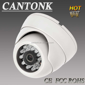 CCTV security camera Plastic 20m 3.6mm fixed IR indoor Dome Best CCTV sales model