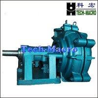 Electric Ash slurry pump for flushing steel mill blast furnace cinder of M series