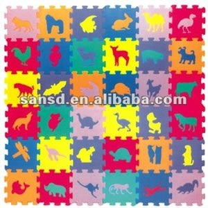 EVA interlocking foam tatami jigsaw mat number pattern for eraly learning soft mat small pieces number mat