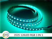 high quality New rgb led strip smd 3535 led strip 120led per meter