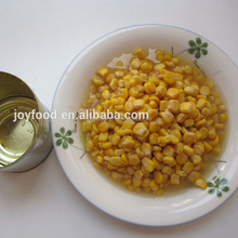 hot sell 100% Edible Canned Sweet Corn