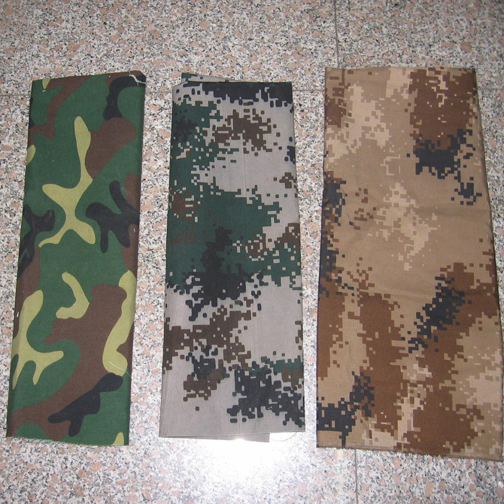 Military Tent Canvas Fabric / Camouflage bag canvas Fabric