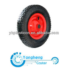 10 solid rubber wheel