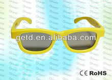 Cinema 3d plastic glasses universal