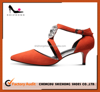 Korea Style High Heel Pump Shoes, Party Wear High Heel Dress Shoes, Elegant Sandal Shoes for Ladies