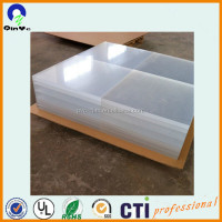 3mm translucent customized size cast plastic acrylic sheet board