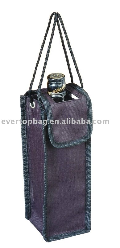 Design bottle carry bag& wine holder promotioan bag