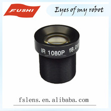 Factory price HD 1080P 2MP M12 1/3 Inch low distortion fixed focus 8mm F1.6 cctv lens