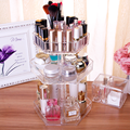 Hot sale popular acrylic cosmetics rotating display