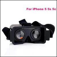 Plastic VR Headset 3d glasses for blue film video open sex video virtual reality equipment