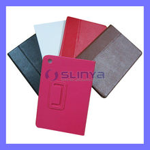 Soft Leather Skin Tablet Full Pack Smart Fold Support Pouch Bag for iPad mini