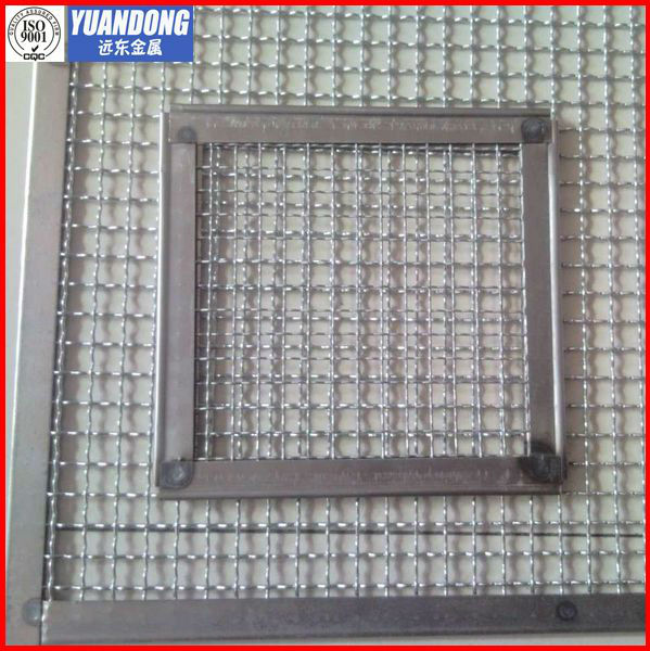 stainless steel crimped wire mesh (professional manufacturer)