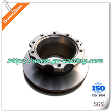 low price stainless steel casting brake drum OEM and custom work from China casting foundry for auto, pump, valve,railway