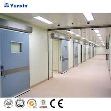 Industrial automatic manual sliding hospital room door,operating theatre door