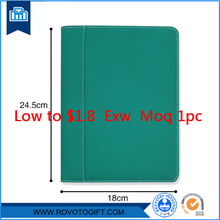 Sales Promotion A5 Size Leather Folder With Memo Pad File Folder