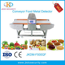 JKDM-F500QD Detection of ferrous, non ferrous and stainless steel contaminants food industry metal detector