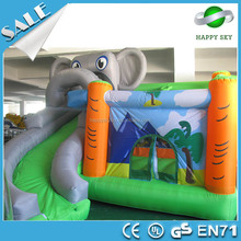 Best Quality! inflatable bouncer rentals, inflatable elephant bounce house for sale 100%PVC material
