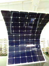 Factory Low Price Solar Power System Home Sunpower Cell Semi Flexible Solar Panel 200W 12V 18V 20V 24V 36V
