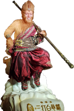The Monkey King-Aaron Guo Lifelike Full Size Silicone Wax Figure