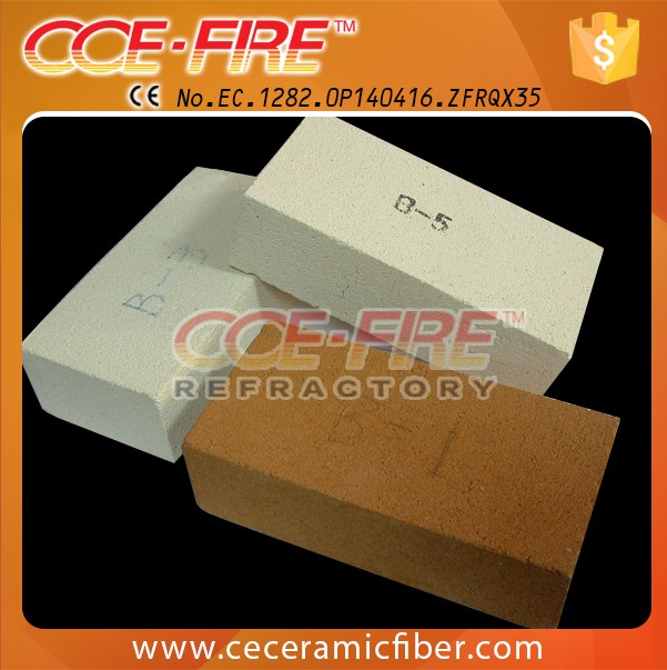 CCEFIRE light weight mullite 26 jm insulation brick