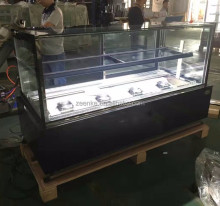 Marble based cake cabinet display for coffe shop