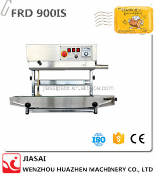Automatic plastic bag sealer FRD900IS Vertical continuous band sealer tea bag sealer
