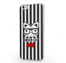 Professional phone case manufacturer supplier fashion printed cartoon mobile phone cover for iphone 6/6plus