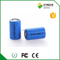 1/2AA CR14250 Lithium battery 3 volts Li-MnO2 Cylindrical battery
