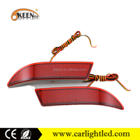 Factory Price DC 12V Car Accessory led rear lights rear bumper reflector for Toyota Avanza