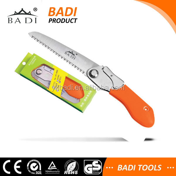 65Mn Steel folding bow garden pruning hand saw with gift box