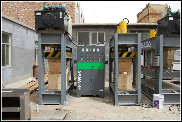 HF chair bending machine with wood mould(80ton)