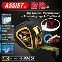 Factory Direct Supply Strong magnetic steel measuring tape rubber tape measure meter tape measure10ft/16ft/25ft measure tape