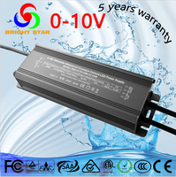 CE&RoHS approved 60w 0-10V dimmable constant current pwm led driver waterproof dimming led power supply for led lighting