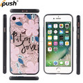 Gloss colored drawing fidelity with sling hole design TPU+PC cover case for iphone7