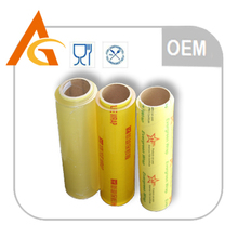 factory plastic scrap pvc stretch film in cutter box