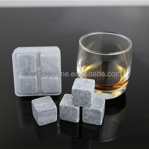 certificated reusable and portable wine soapstones dice ice cube whiskey stones