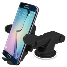 Mobile Phone Car Mount, Holder, Cradle - Universal Fit - Secure Cell Phone/GPS to Windshield or Air Vent in Vehicle