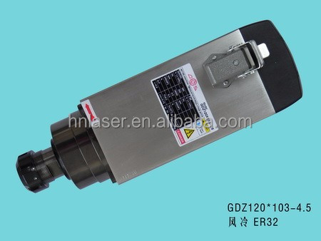 high quality 4.5kw air cooling spindle with 18000rpm Collect ER32 for cnc router