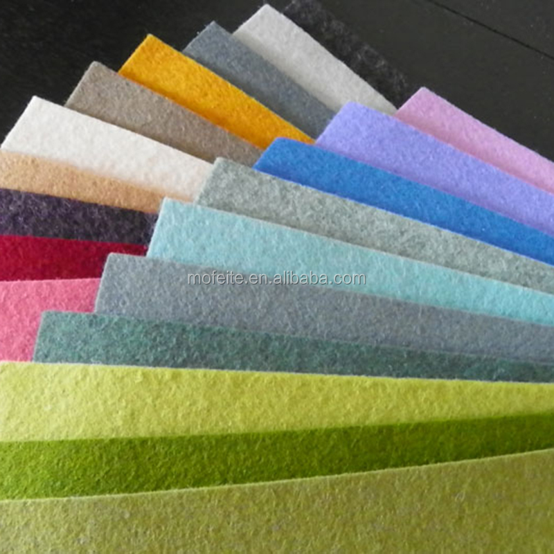 super quality 100% merino wool felt fabric and pressed wool felt