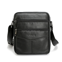 Male satchel small crossbody business bag briefcase for man
