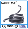 "Grade A 3/8"" Flexible Black Rubber Fuel Hose, Oil Hose"