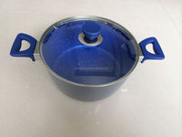 marble coating aluminum dutch oven sell hot