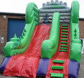 Hola giant inflatable slide for sale/giant slide for sale